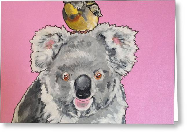 Kalman The Koala Greeting Card