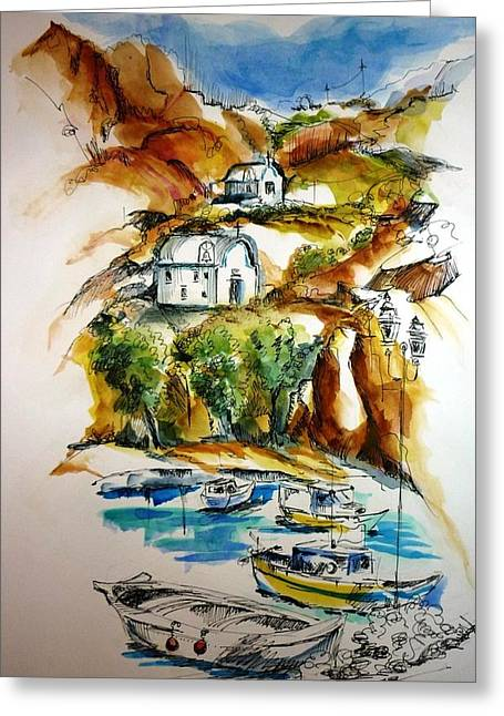 Kalymnos Greeting Card