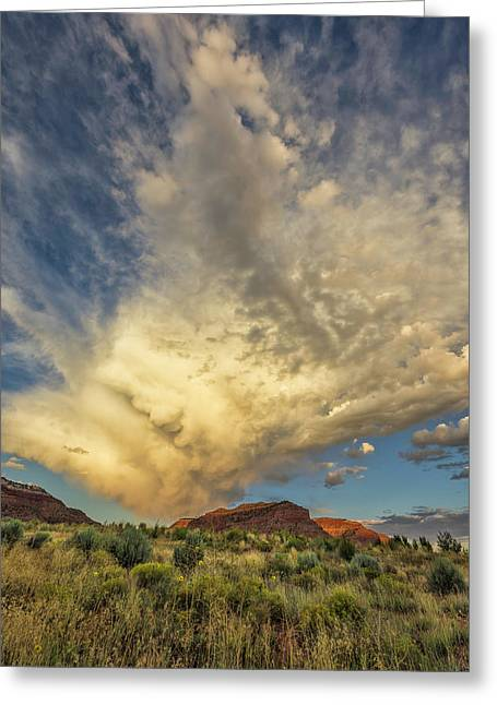 Kanab Clouds Greeting Card
