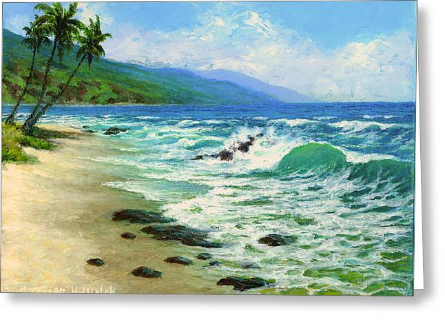 Kanaha Beach Greeting Card by Steven Welch