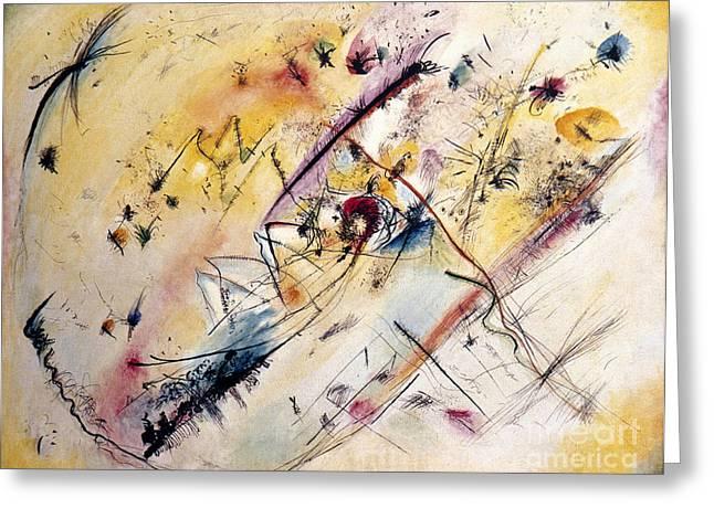 Kandinsky: Light, 1913 Greeting Card