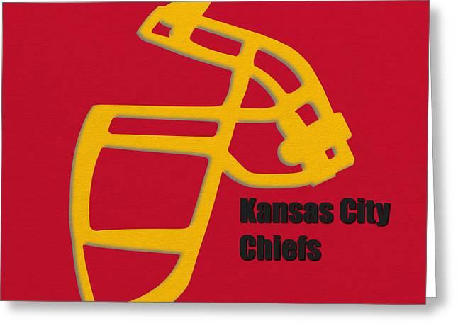 Kansas City Chiefs Retro Greeting Card