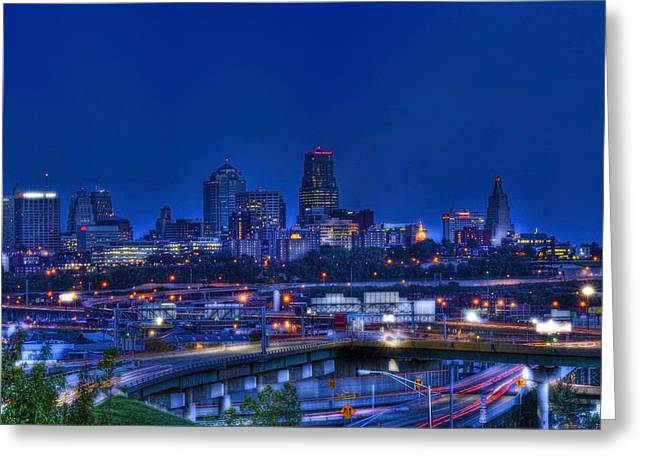 Kansas City Fantasy Greeting Card