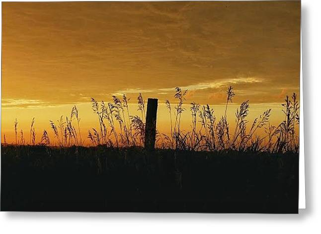 Kansas Countryside Greeting Card by Dustin Soph