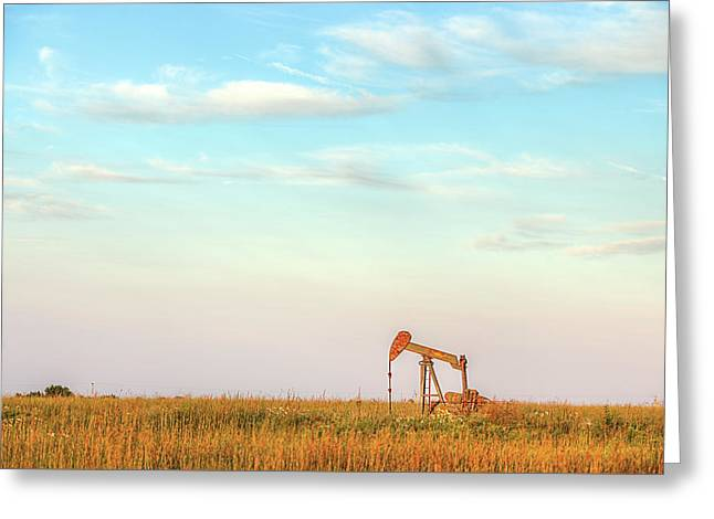 Kansas Energy  Greeting Card by JC Findley