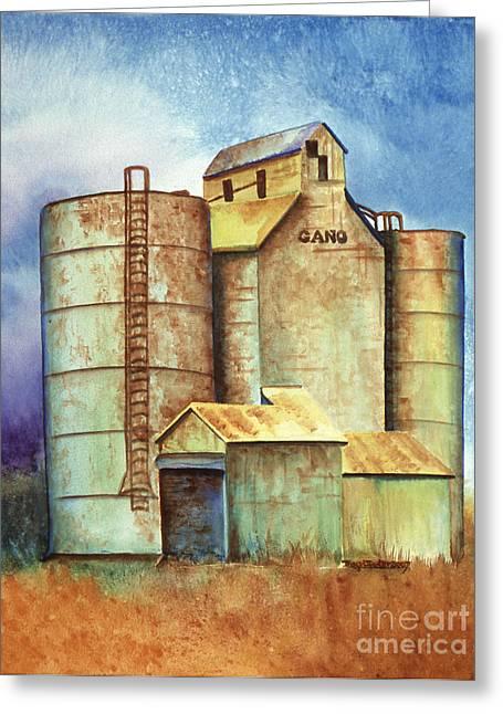 Kansas Past Greeting Card