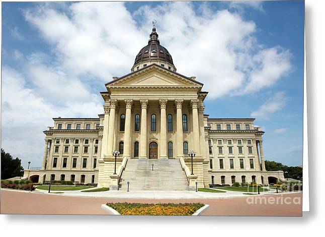 Kansas State Capitol Building Greeting Card