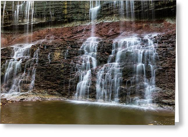 Kansas Waterfall 3 Greeting Card