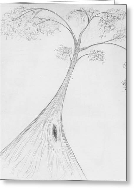 Karri Tree Greeting Card by Leonie Higgins Noone