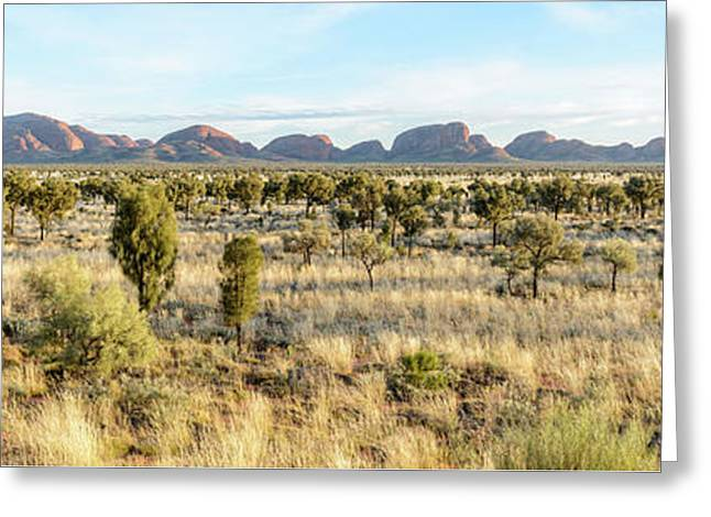 Greeting Card featuring the photograph Kata Tjuta 03 by Werner Padarin