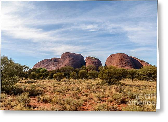 Greeting Card featuring the photograph Kata Tjuta 06 by Werner Padarin