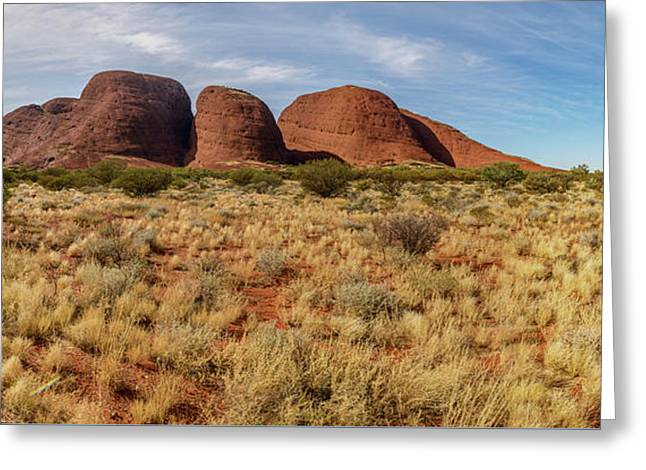 Greeting Card featuring the photograph Kata Tjuta 10 by Werner Padarin