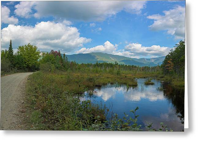 Katahdin In The Clouds Greeting Card