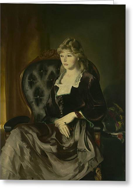 Katherine Rosen Greeting Card by George Bellows