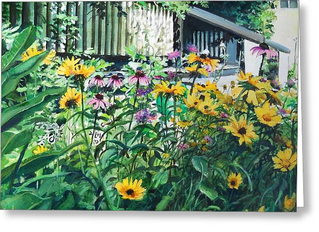 Kathys Garden Greeting Card