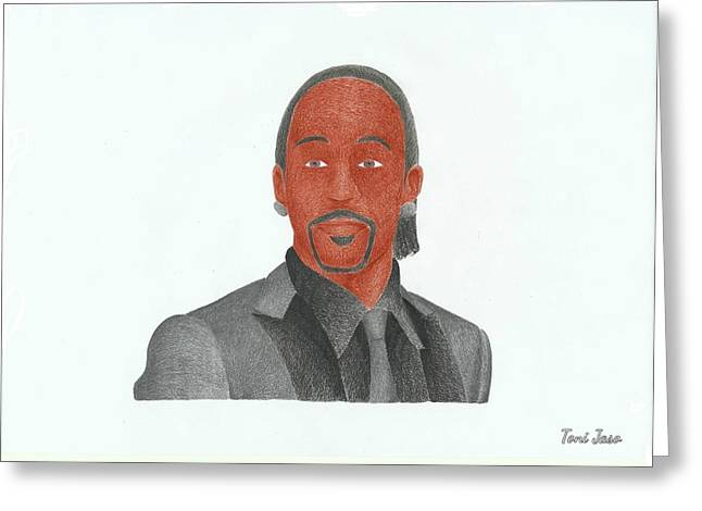 Katt Williams Greeting Card
