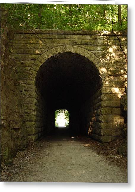 Katy Trail State Park Tunnel Greeting Card