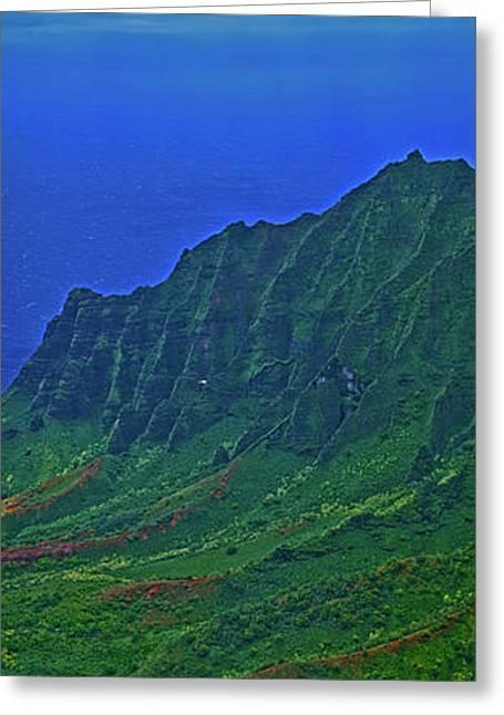 Kauai  Napali Coast State Wilderness Park Greeting Card