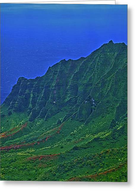 Kauai  Napali Coast State Wilderness Park Greeting Card