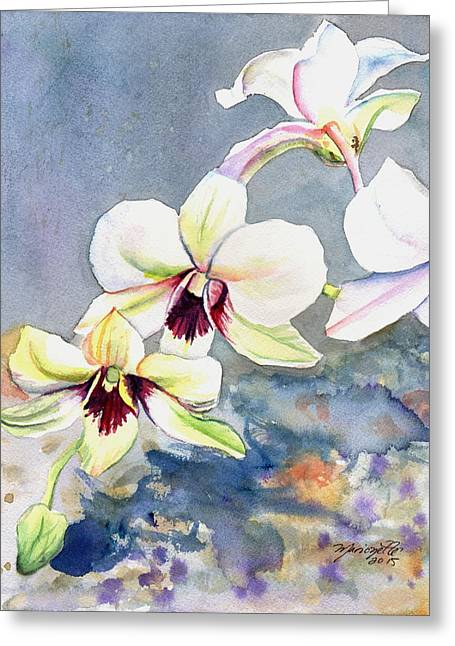 Kauai Orchid Festival Greeting Card