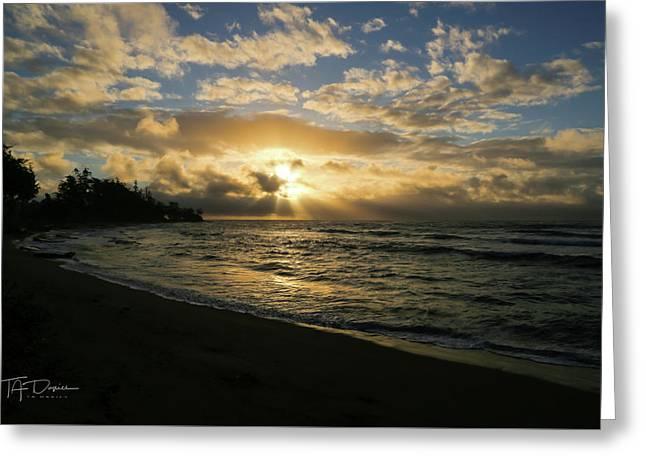 Kauai Sunrise Greeting Card