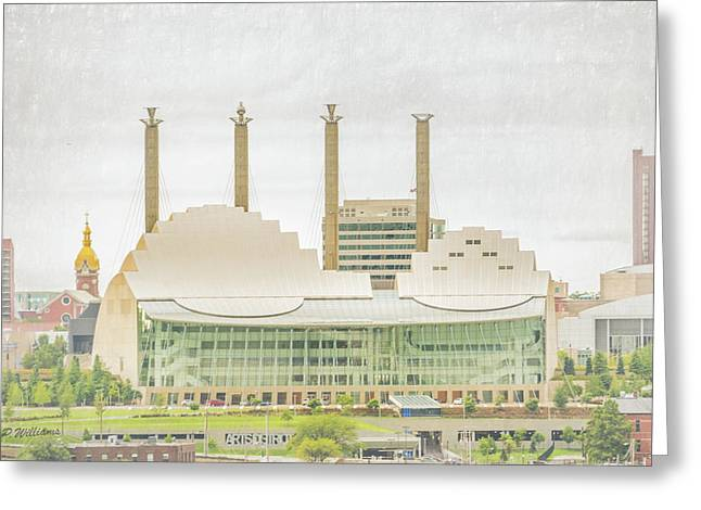 Kauffman Center Greeting Card by Pamela Williams