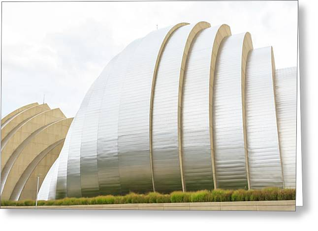 Kauffman Center Performing Arts Greeting Card by Pamela Williams