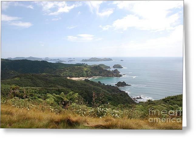 Kauri Cliffs Golf 2 New Zealand Greeting Card