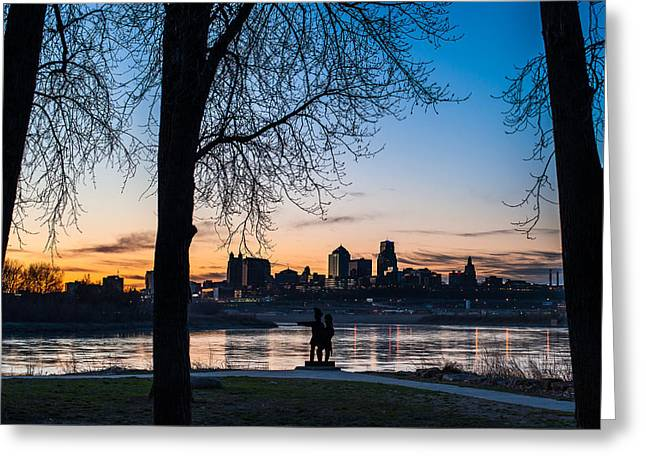 Kaw Point Park Greeting Card