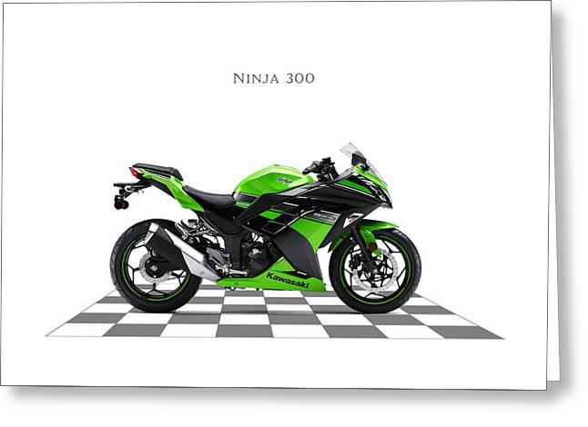 Kawasaki Ninja 300 Greeting Card