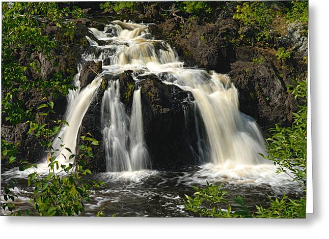 Kawishiwi Falls Greeting Card