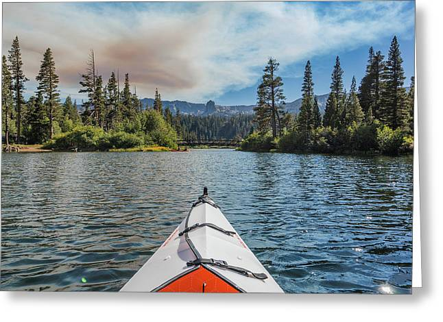 Kayak Views Greeting Card