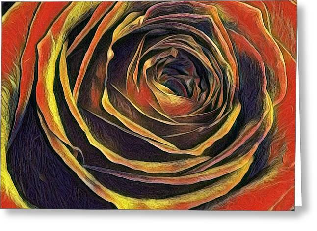 Kayla Rose Greeting Card
