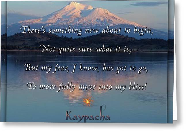 Kaypacha - February 15, 2017 Greeting Card