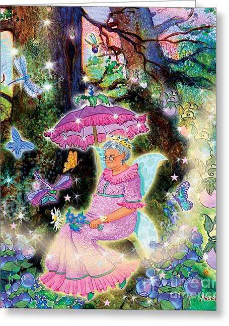 Kayrissa Twinkle, Eldeera Greeting Card by Teresa Ascone