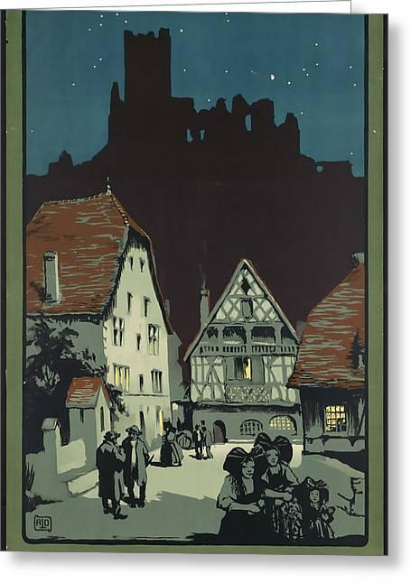 Kaysersberg Greeting Card by David Wagner