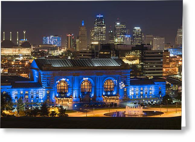 Kc Royal Skyline Greeting Card