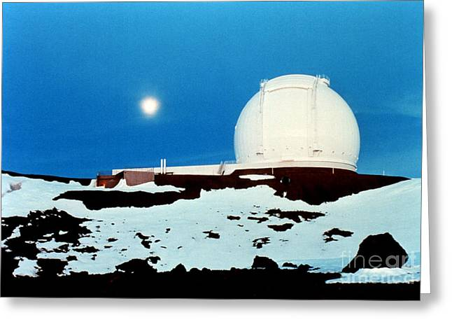 Keck Observatory Greeting Card by Science Source