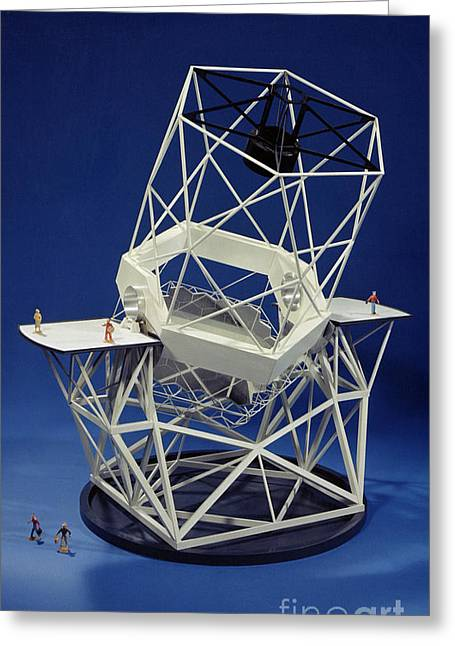 Keck Observatorys Ten Meter Telescope Greeting Card by Science Source