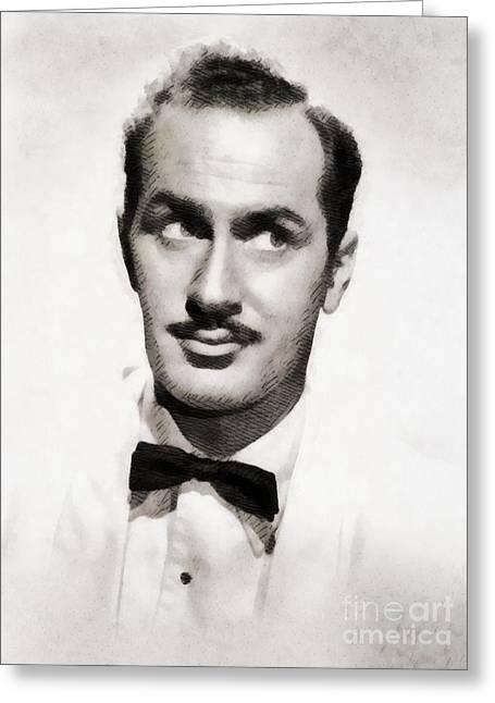 Keenan Wynn, Vintage Actor By John Springfield Greeting Card