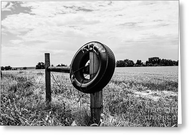 Infared Photography Greeting Cards - Keep Out Greeting Card by Scott Pellegrin