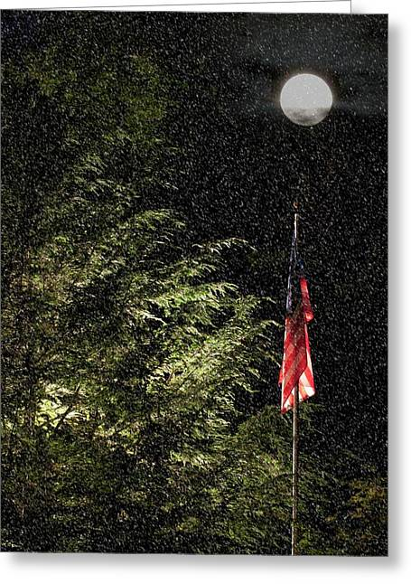 Keeping America  Illuminated.  Greeting Card