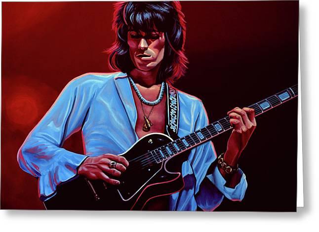 Keith Richards The Riffmaster Greeting Card