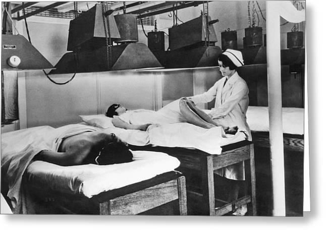 Kellogg's Michigan Sanitarium Greeting Card by Underwood Archives