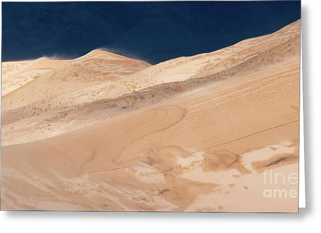 Kelso Dunes California 4 Greeting Card by Bob Christopher
