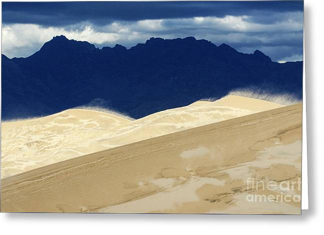 Kelso Dunes California Greeting Card by Bob Christopher