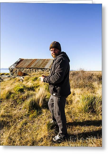 Kelvedon Beach Explorer Greeting Card by Jorgo Photography - Wall Art Gallery