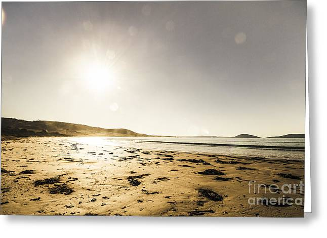 Kelvedon Beach Tasmania Australia Greeting Card by Jorgo Photography - Wall Art Gallery