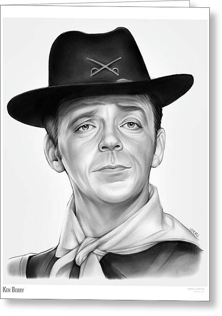 Ken Berry Greeting Card