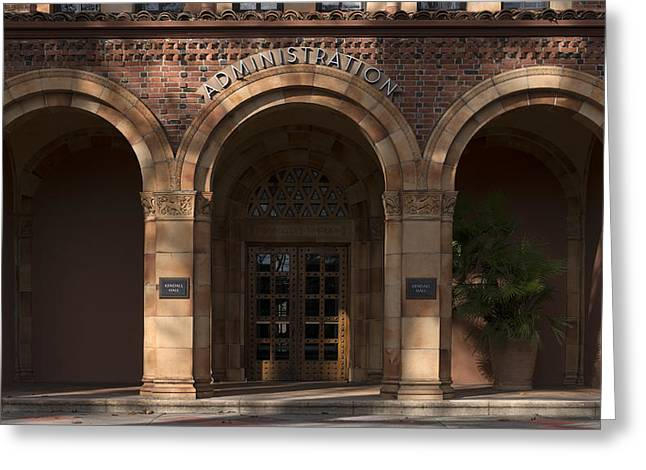 Kendall Hall Administration Building -  Cal State University Chico Greeting Card